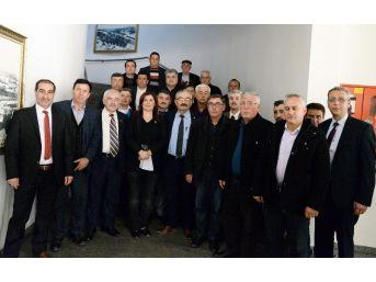 Söke, Didim Ve Buharkent Muhtarlarından Başkan Çerçioğlu'na Teşekkür