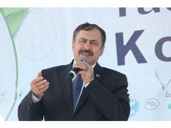 Bakan Eroğlu Edirne'ye Geliyor
