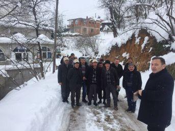 Köy Köy Gezerek Üreticiyi Zirai Dona Karşı Uyarıyorlar