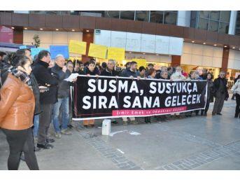 İzmir Emek Ve Demokrasi Güçleri'nden Operasyonlara Tepki