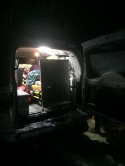 Solunum Yetmezliği Bulunan Hastanın İmdadına Paletli Ambulansla Yetiştiler