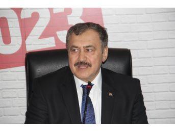 Orman Ve Su İşleri Bakanı Prof. Dr. Eroğlu: