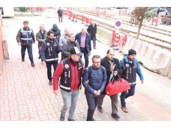 Kocaeli'de Fetö Soruşturmasında 10 Öğretmen Adliyeye Sevk Edildi