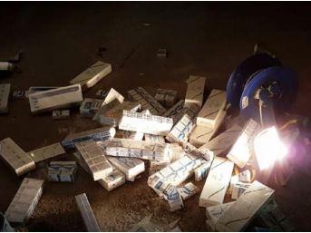 Tır'da 67 Bin Paket Kaçak Sigara Ele Geçirildi
