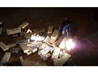 Uşak'ta 67 Bin Paket Kaçak Sigara Ele Geçirildi