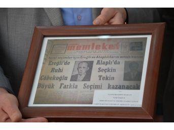 Alaplı, Nahiye Oluşunun 1930 Yılında Mustafa Kemal Atatürk'ün İmzasıyla Belgelendi
