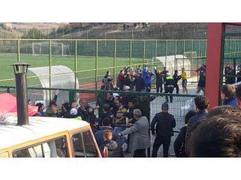 Zonguldak'ta Amatör Maçta Kavga: 2 Yaralı