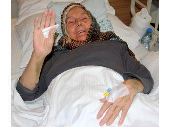 (özel) Hastaneye Yatalak Geldi, Yürüyerek Çıktı