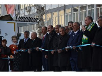 Cumhurbaşkanı Erdoğan Üniversitede Olan 16 Bina Tesis Ve Altyapı Yatırımını Hizmete Açtı