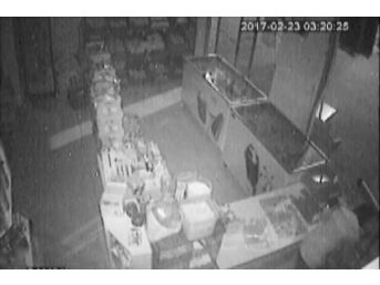 Marketteki Hırsızlık Kamerada, 3 Kişi Tutuklandı