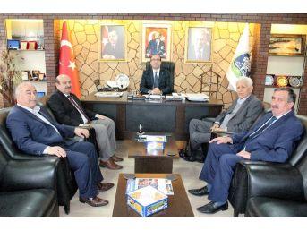 Başkan Konak, Sandıklı'da Çeşitli Ziyaretlerde Bulundu