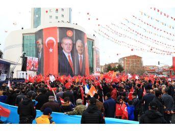 Ak Parti Referandum Maratonuna Kahramankazan İle Başlıyor