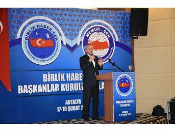 """Memur-sen Genel Başkan Yardımcısı Esen: """"türkiye'nin Ekonomik İstikrarı İçin 'evet' Diyoruz"""""""