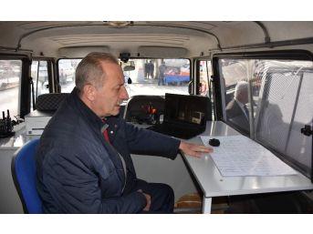Başkan Atabay, Mobil Zabıta Aracını Tanıttı