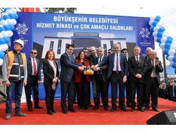 """Çerçioğlu; """"nazilli'ye İki Buçuk Yılda 23 Milyonluk Yatırım Yaptık"""""""