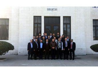 Nazilli Ticaret Odası'ndan Hatay Büyükşehir Belediyesine Ziyaret