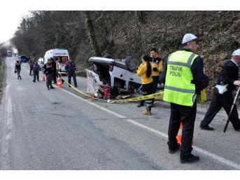 Bartın'da Otomobil Takla Attı: 1 Ölü, 2 Yaralı