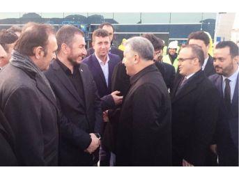 Başkan Altınok, Bakan Arslan'a Balıkçı Barınağını Anlattı