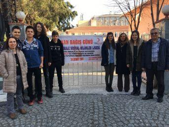 Lise Öğrencilerinden Kan Bağışı Etkinliği