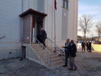 Başkan Keleş, Azmimilli Camisinde İncelemelerde Bulundu
