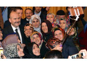 Bakan Soylu, Erzurum'da Kılıçdaroğlu'na: Adamlarını Derle Topla, Terör Örgütünün Propagandasını Yapmasınlar