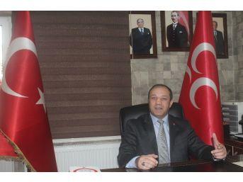 Mhp Erzurum İl Başkanı Karataş, Referandum İçin 'evet' Dedi