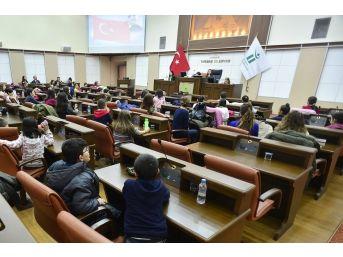 Eskişehir'de Eko-okullar Çevre Çocuk Meclisi Çalıştayı