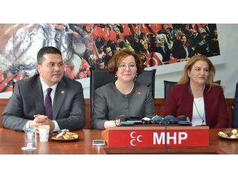 """Mhp Genel Başkan Yardımcısı Demirel: """"kararımıza Herkes Saygı Göstersin"""""""