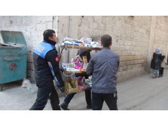 Gaziantep'te Suriyelinin İşlettiği Kaçak Eczaneye Baskın