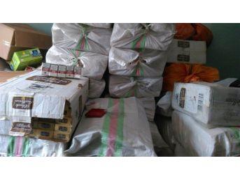 Hakkari'de 43 Bin Paket Kaçak Sigara Ele Geçirildi