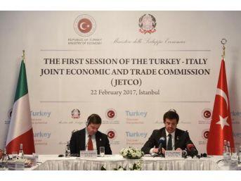 Bakan Zeybekci: Türkiye Ve İtalya'yı Yan Yana Getirebilmek Son Derece Önemli
