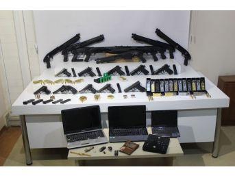 Suikast Silahları Satan Şebeke Çökertildi: 3 Gözaltı