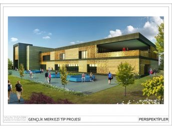 Ödemiş'e Yeni Gençlik Merkezi