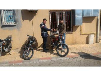 Kahramanmaraş'ta, 7 Motosiklet Hırsızı Tutuklandı