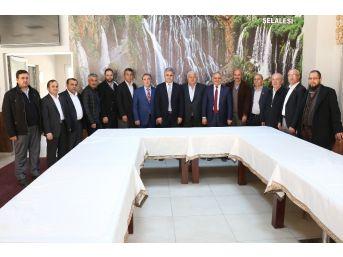 Kayseri'nin Yahyalı İlçesinde Ak Parti, Mhp Ve Stk'lar Referandum'da 'evet' Oyu Kullanacaklarını Açıkladı
