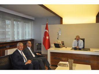 Meb İnşaat Ve Emlak Dairesi Başkanı Özcan Duman Kayseri'de İncelemelerde Bulundu