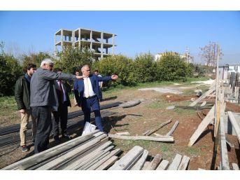 Erdemli Belediyesi, Eski Beldelerin Tamamına Düğün Salonu Yapıyor