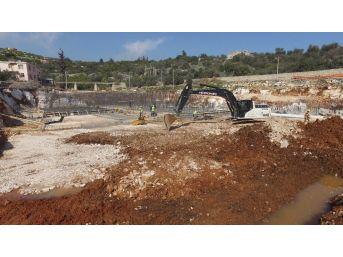 Limonlu-kumkuyu Atıksu Arıtma Tesisi İnşaat Çalışmaları Devam Ediyor