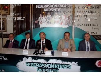 Tbl Federasyon Kupası Final Grubu Heyecanı Mersin'de Yaşanacak