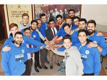 Milas Belediyespor Hedef Çıtasını İkincilikten Şampiyonluğa Yükseltti