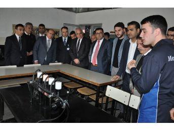 Milas Mesleki Ve Teknik Anadolu Lisesi'ne Teknolojik Destek