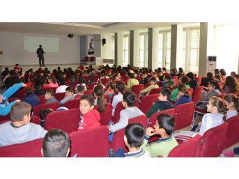 Milas'ta Öğrenciler Haşerelerle Mücadele Konusunda Bilgilendiriliyor