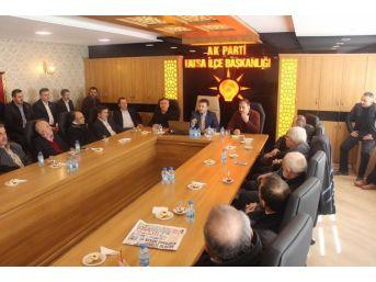 Mahalle Başkanları İle Referandum Toplantısı