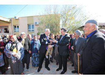 Vali Kerem Al, Köy Sakinleri İle Bir Araya Geldi