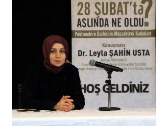 """Ak Parti Milletvekili Usta: """"28 Şubat Bizler İçin Bir Direnişti"""""""