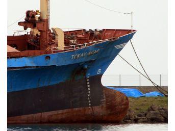 Samsun'da Karaya Oturan Gemi İçin Yargıtay Kararı Bekleniyor