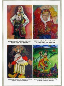 Uluslararası Çocuk Resim Yarışması Sergisi Samsun'da