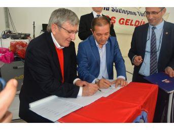 Sinop'ta Toplu İş Sözleşmesi İmzalandı