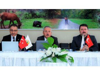 Orman Bölge Müdürlüğü Şubat Ayı Değerlendirme Toplantısı Yapıldı