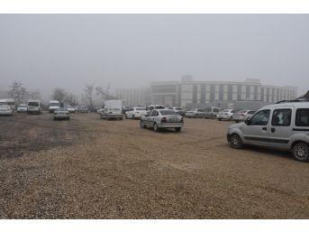 Düzce Belediyesinden Hastane İçin Otopark Yapıldı